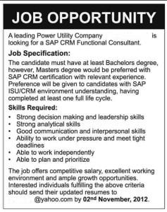 Generic Job Ad 1