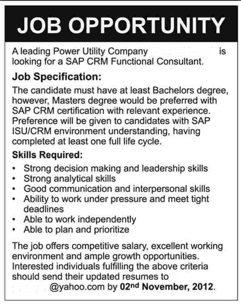 Generic Job Ad 1 Mitton Media